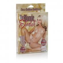 The Blonde Starlet Inflatable Doll Bucks Night Fun Blow Up Toy Perfect Playmate