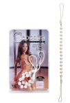Non Piercing Cleopatra Collection Nipple Jewellery Pearl White