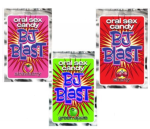 BJ Blast Oral Sex Candy- 3 Pack Strawberry Cherry Green Apple