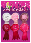 1 Pack of 6 ribbons Bachelorette Party Hens Night Girls Night Out