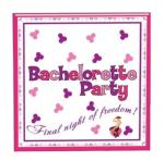Bachelorette Hens Night Party Trivia Game Napkins - 10 Pack