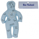 New Husband Voodoo Doll Funny Gift Woman Prank Joke Hen Night Bachelorette Party