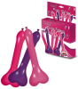 Long Pecker Balloons Coloured X Rated Penis Willy Hens Night Party Decoration