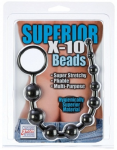 Anal Beads Anal Balls X-10 Beads Soft Stretchy Firm Graduated Beads