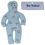 New Husband Voodoo Doll Funny Gift Woman Prank Joke Hen Night Bachelorette Party